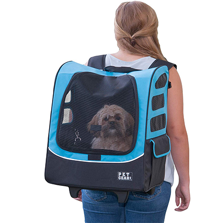 Pet Gear I-GO2 Travel Carrier and Car Seat for Dogs