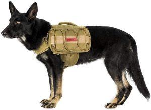 2 OneTigris Dog Pack Hound Travel Camping Hiking Backpack Saddle Bag Rucksack for Medium