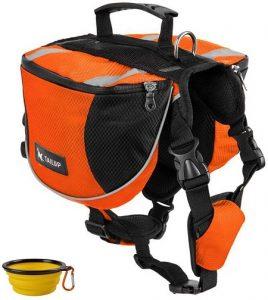 GrayCell Dog Pack Hound Travel Hiking Backpack