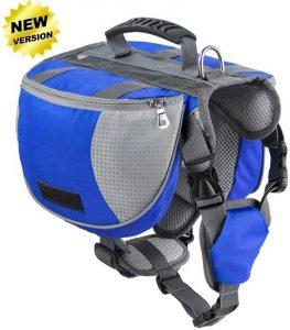 6 Lifeunion Adjustable Service Dog Supply Backpack Saddle Bag