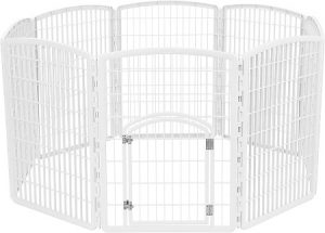 "IRIS 34"" Exercise 8-Panel Pet Playpen"