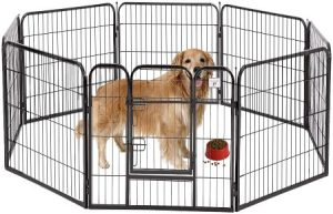 BestPet Pet Playpen Dog Fence