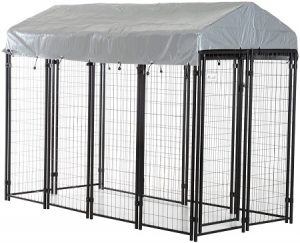 PawHut Large Outdoor Dog Kennel